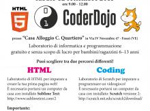 Volantino CoderDojo Fossò, 12 sett 2015